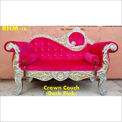 Crown Couch Wedding Chair