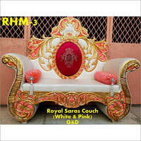 Royal Saras Couch Wedding Chair