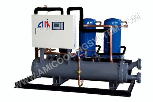 Multiple Compressor Water Cooled Scroll Chiller