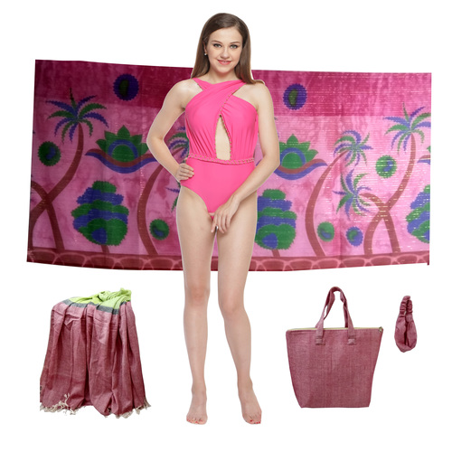 Lycra Fancy Beachwear