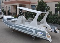 19ft Semi Rigid Inflatable Rib Boat