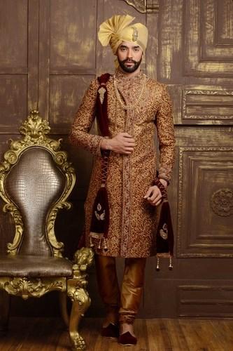 Ready-Made Wedding Sherwani