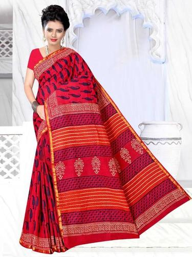 Ladies Casual Printed Saree
