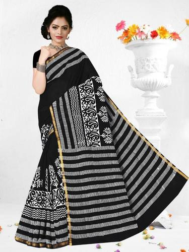 Party Wear Ladies Cotton Fancy Saree