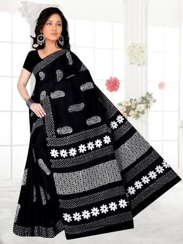 Women Pure Cotton Saree