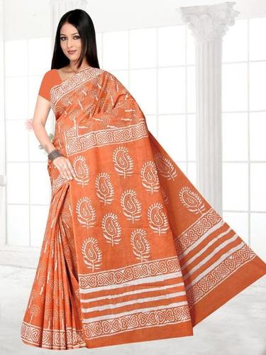 Ladies Traditional Cotton Saree