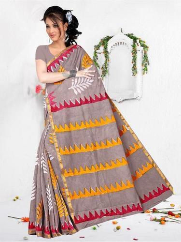 designer Ladies Printed Saree