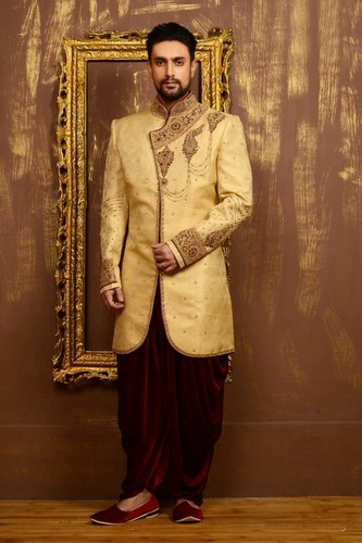 Ready-Made Wedding Sherwani