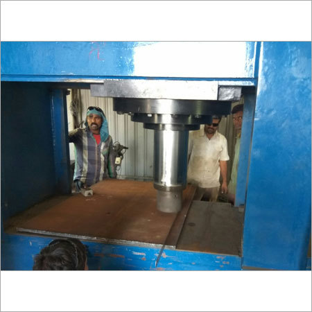 Hydralic Press Machine Work