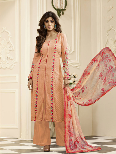 Designer Semi-Stitched Salwar Suits