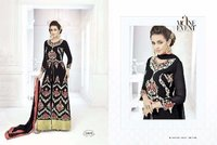 Bridal Wear Black Anarkali Suit