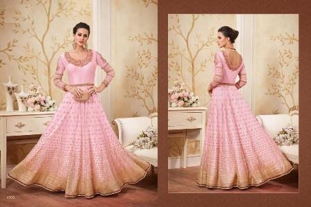 Bridal wear Light Pink Anarkali Suit