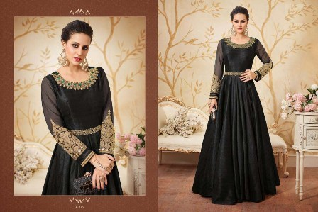 Full Black Anarkali Suit