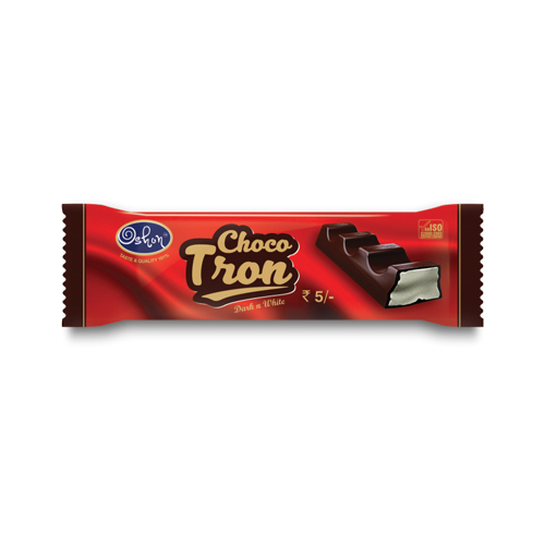 Choco Tron (Dark N White) - Bar Chocolate