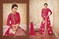 Bridal Wear Red Anarkali Suit