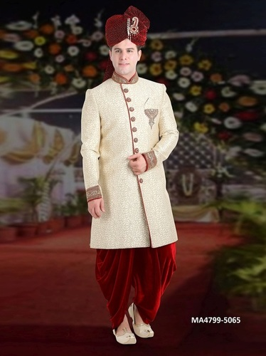 Men Bridal Dhoti Sherwani
