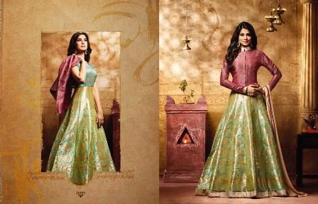 Designer Jacket Anarkali Suit