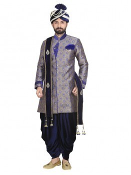 Men Wedding Dhoti Sherwani
