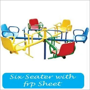 Six Seater with FRP Sheet