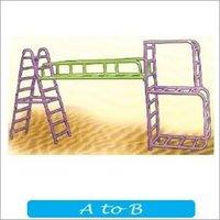 A to B shape climber