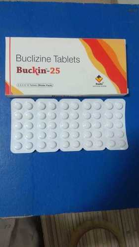 Buclizine 25 mg & 50 mg