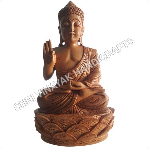 Wooden Lord Buddha
