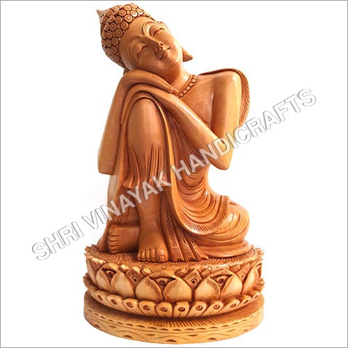 Wooden Lady Statue