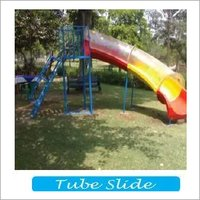 Playground Tube Slide