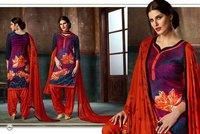 Multicolour Designer Readymade Suit Online