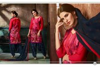 Rayon Print Patiala Salwar Kameez Supplier