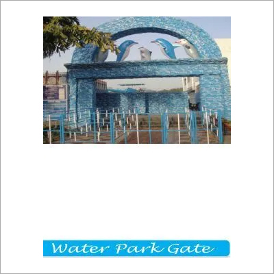 Plastic Water Park Gate