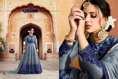 Heavy Designed Anarkali Suit for Wedding Wear
