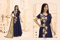 Blue Bollywood Designed Anarkali Suit