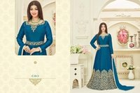 Lightblue Bollywood Designed Anarkali Suit