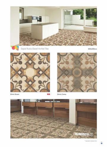 Square Edge Porcelain Floor Tiles