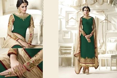 Green Designer Salwar Suit