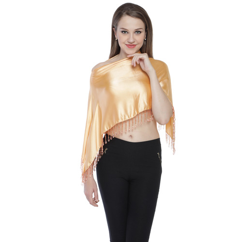 Gold colour ruhana ponchos