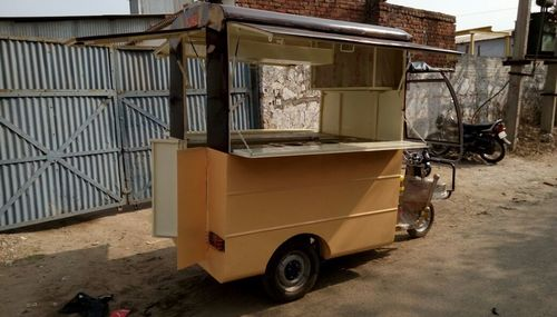 Electric food van