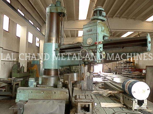 CESPAL Floor Radial Drilling Machine
