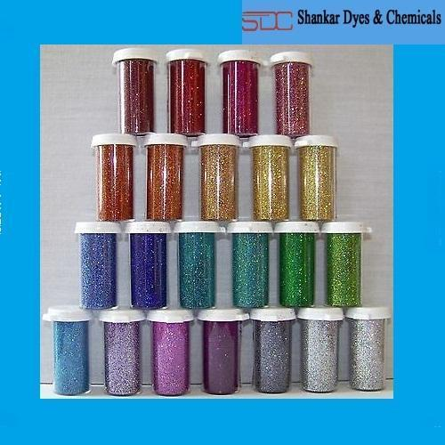 Polyester Plain Glitter Powder