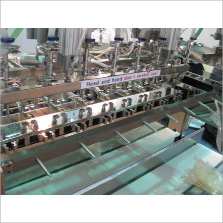 Soft Bag Filling and Sealing Machine