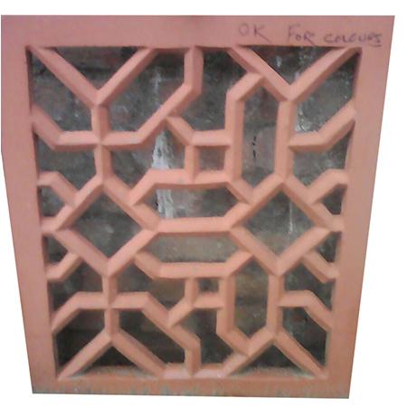 Designer Pink Sand Stone Jali