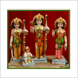 Lord Marble Ram Darbar Statues