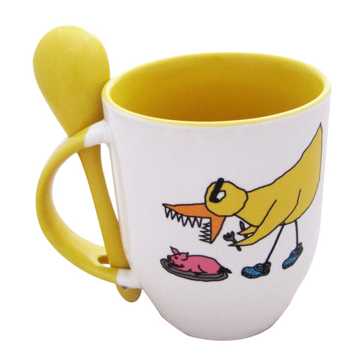 Sublimation Mug - With Spoon