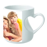 Sublimation Body Heart Mug