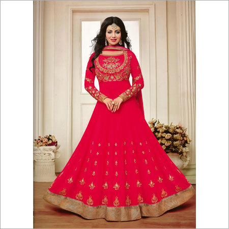 Ladies Net Anarkali Suits