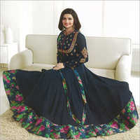Heavy Printed Anarkali Suit