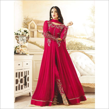 Ladies Party Wear Churidar Suits