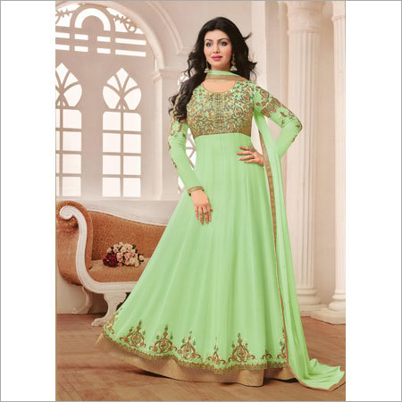 Ladies Heavy Embroidery Salwar Kameez