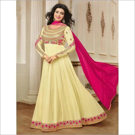Ladies Embroidered Tunics Salwar Kameez